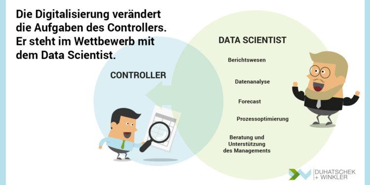 Die Digitalisierung verändert die Aufgaben des Controllers